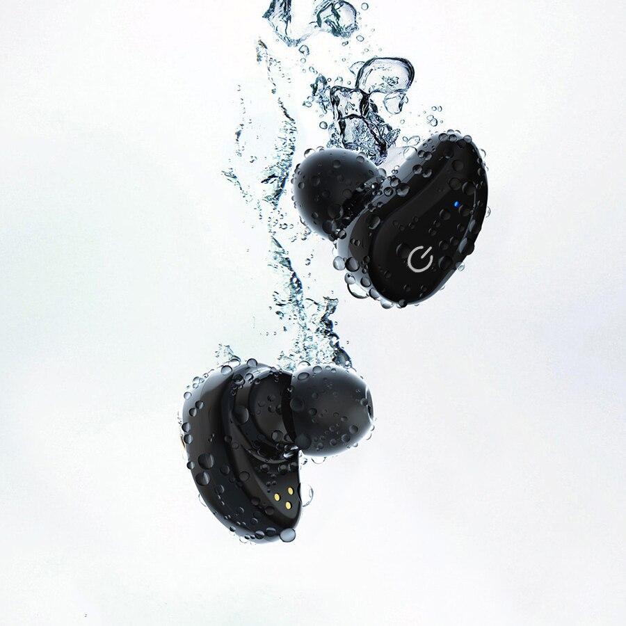 TWS Bluetooth slušalice, GUSGU mini bežični sportski slušalice / - Prijenosni audio i video - Foto 4