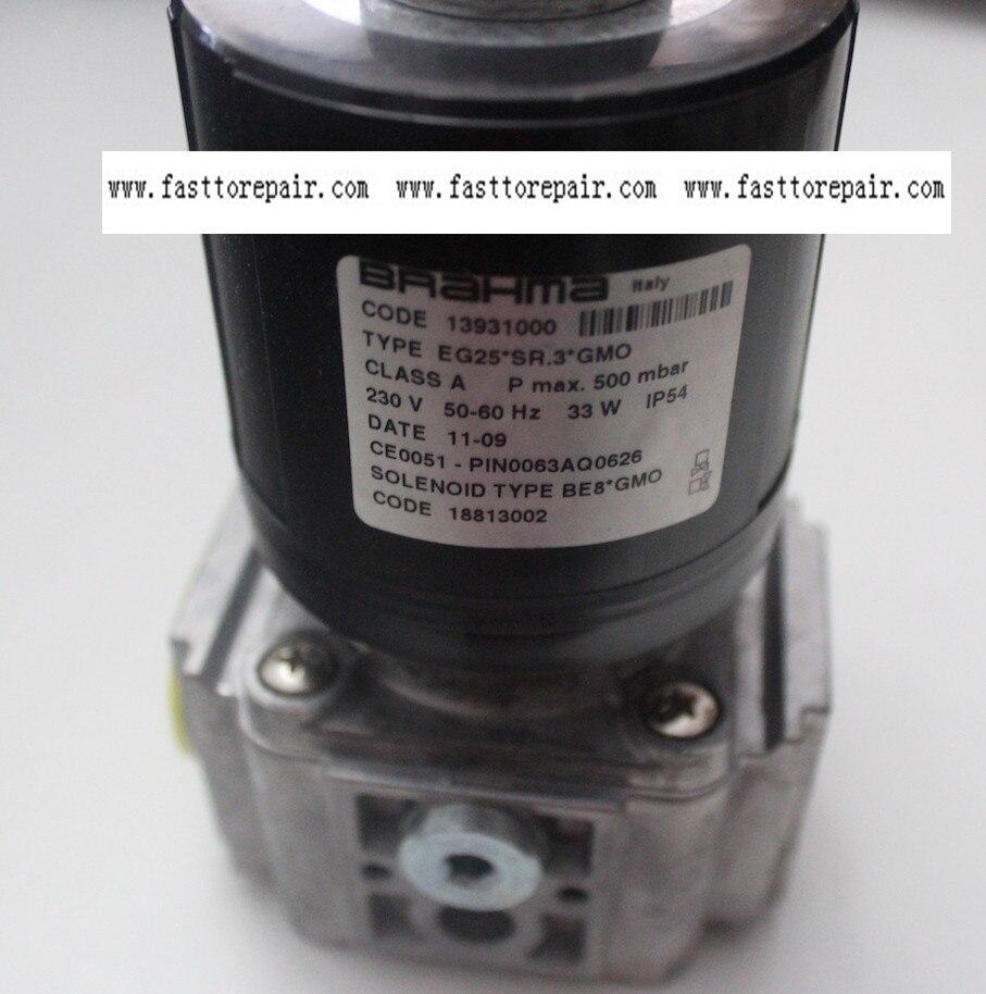 BRAHMA Solenoid Valves EG25*SR.3*GMO For gas burner New & Original honeywell ignition solenoid valves ve410aa1003t 3 8 for gas burner new