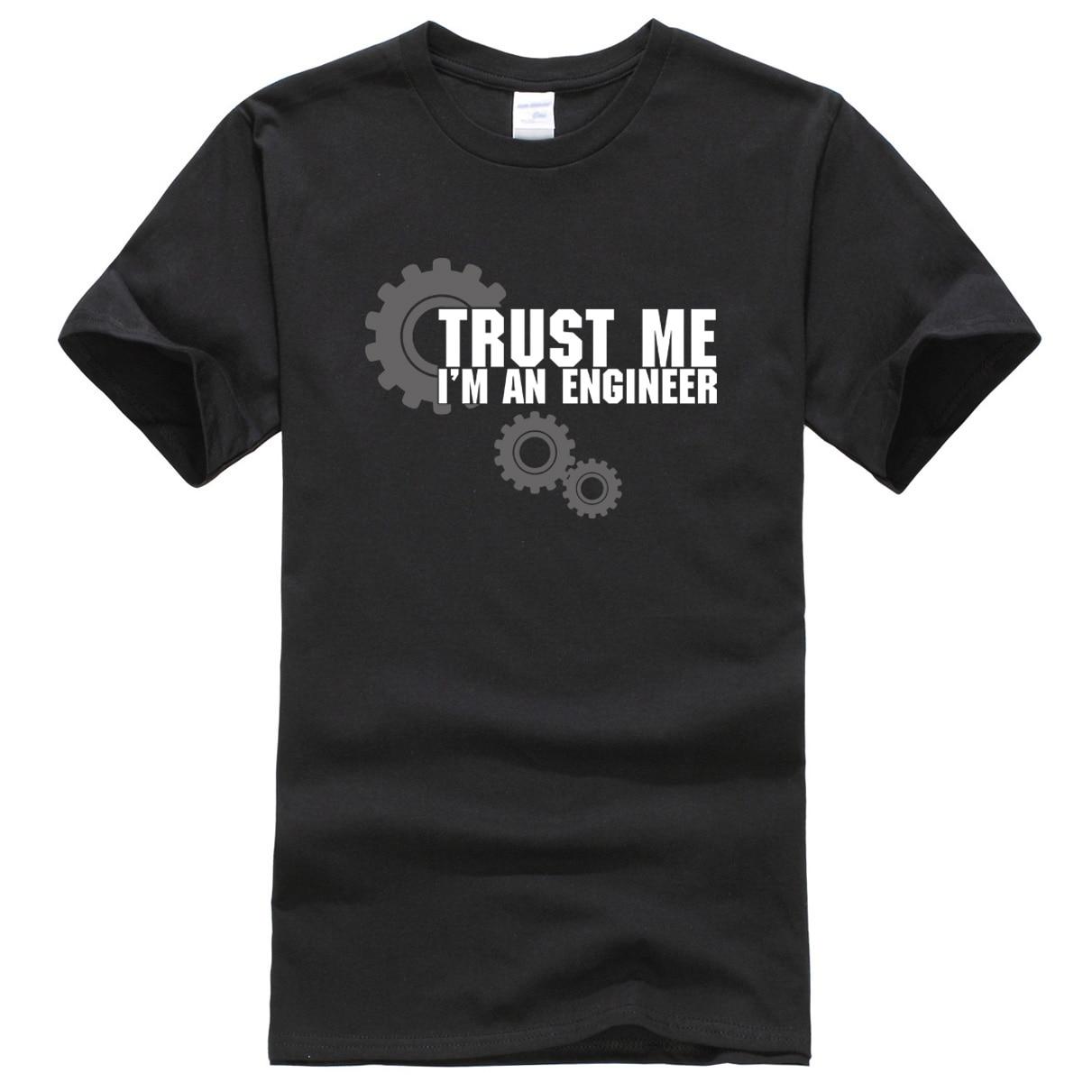 2018 männer T-shirts sommer Trust Me Ich bin Ein Ingenieur gedruckt T-shirt männer sportwear heißer verkauf harajuku crossfit tops t-shirt
