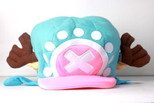 Бесплатная доставка цельный тони тони чоппер аниме косплей кепка розовый и голубой плюшевые шляпа версии 2