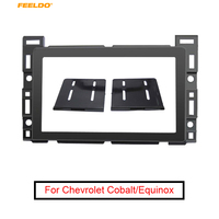 FEELDO Car 2Din Radio DVD Fascia Frame For CHEVROLET Cobalt PONTIAC G5SATURN Aura Stereo Dash Mount Panel Frame Installation