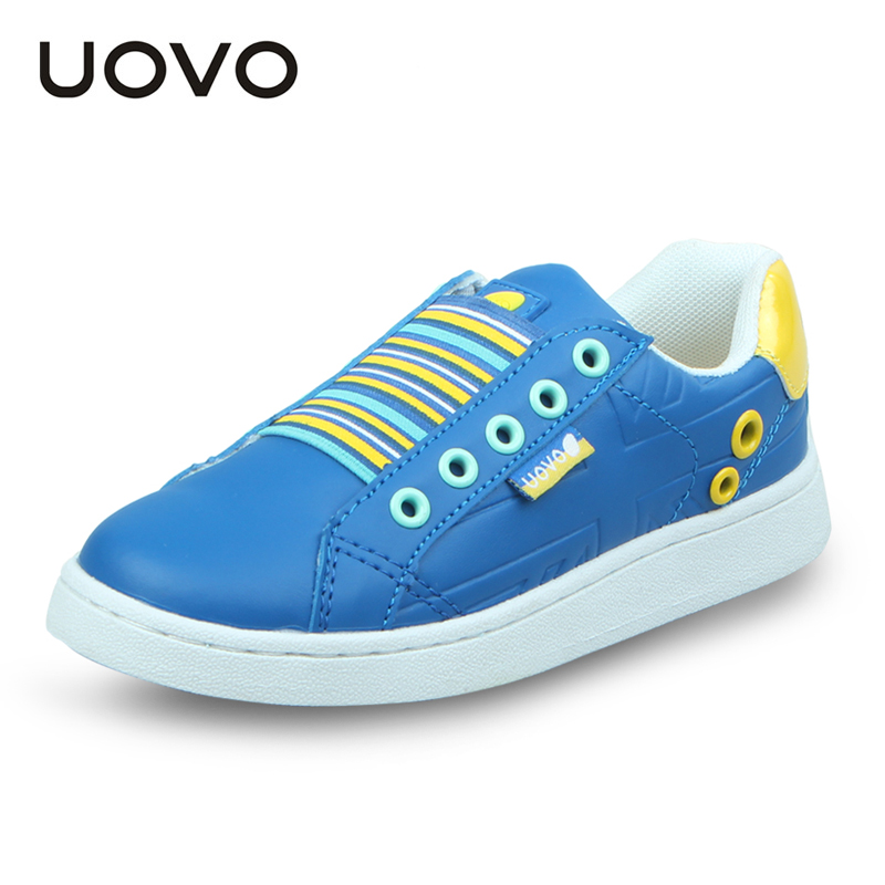 New Boys Girls Spring Autumn Casual Leather Shoes Elastic Band Fashion Sneakers Sports Flats Zapatillas Ninos Kids Moccasins