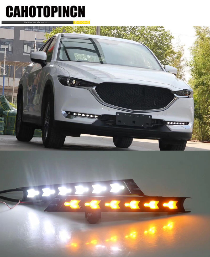 for mazda cx 5 cx5 cx 5 2017 waterproof 12v led car drl. Black Bedroom Furniture Sets. Home Design Ideas