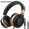 Sound Intone C9 Over-ear Wired Headsets Stereo Low Bass Headphones with Mic and Volume Control for iPhone Android Computer MP3