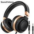 Sound intone c9 sobre-oído wired auriculares estéreo bajo bass auriculares con micrófono y control de volumen para iphone android ordenador mp3