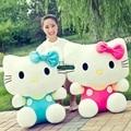 Dorimytrader New 100cm Large Pop Hello Kitty Plush Toy Big 39'' Pink Hello Kitty Soft Stuffed Doll Pillow Kids Present DY61315