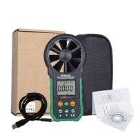 Aimometer MS6252B Số Đo Gió Nhiệt Độ Độ Ẩm Sensor Gió Air Speed Gió Velocity Meter Giao Diện USB
