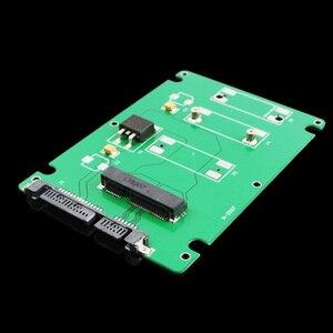 Image 4 - Adaptateur mSATA vers SATA pour SSD, carte convertisseur, avec boîtier de 2.5 pouces #67544