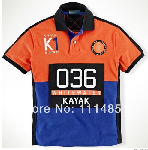 688bf5963 Embroidered logo Men s Custom Fit Rafting Guide Mesh Polo Shirts ...