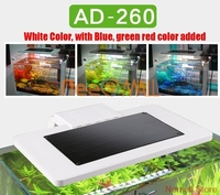 Chihiros Aquarium SUNSUN LED Lighting Lid Landscaping Lamp Clip on AD 260/AD260 For Table Aquario Fish And Plant Tank