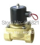 50mm Flow Bore G2'' Brass Valve Solenoid Water Control Valve Model 2W500-50 Voltage DC24V ваза sima land серебряная роза высота 18 см
