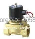 50 мм расход диаметр G2 » латунь клапан управления электромагнитным клапаном воды клапан модель 2W500-50 напряжение 24в