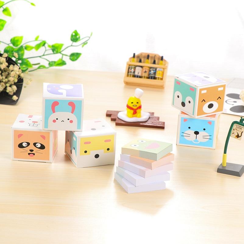 Kawaii Paper Sticky Memo Pad Leuke notitieblok Post Note Bookmark - Notitieblokken en schrijfblokken bedrukken - Foto 2