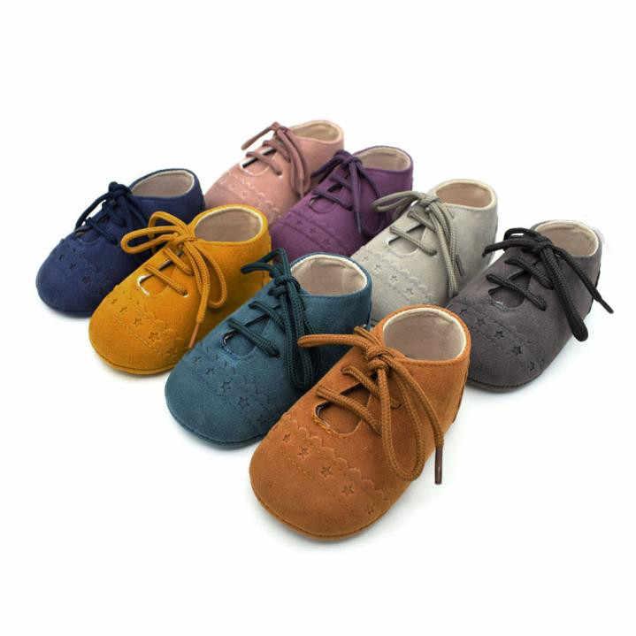 Hot Baby Schoenen 2018 Nieuwe Herfst/Lente Pasgeboren Jongens Meisjes Peuter Schoenen Anti-Slip Zachte Baby Sequin Casual sneakers