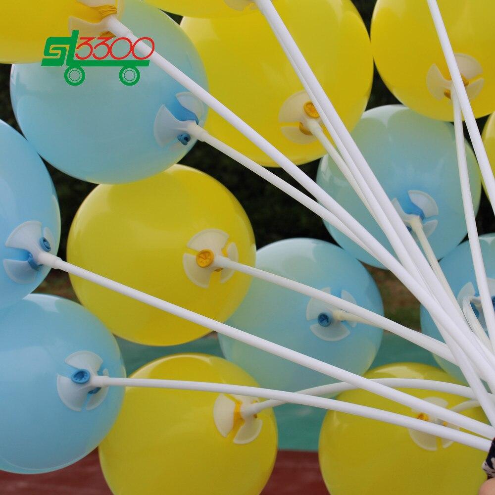 SL3300 50pc/set Balloon Sticks Party Supplies Wedding Decoration ...