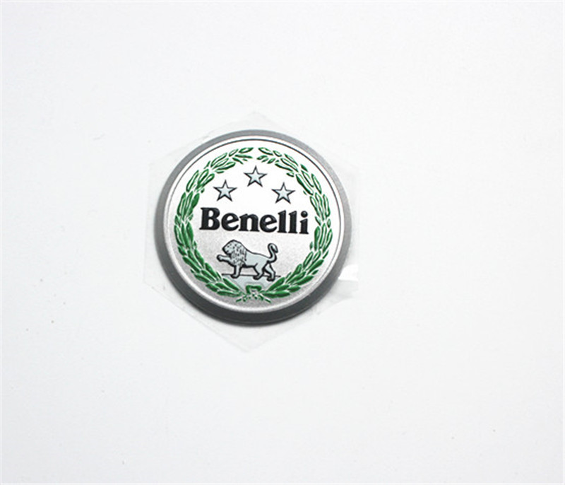 3D Logo label / Decal for Benelli BN600 TNT600 Stels600 Keeway RK6 49X Pepe 50 VLM Velvet 125 150 diameter 4cm / BN TNT 300 600