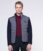 New 2016 Autumn Winter Men Jackets And Coat Down Parkas Jacket Turn down Collar Solid Casual
