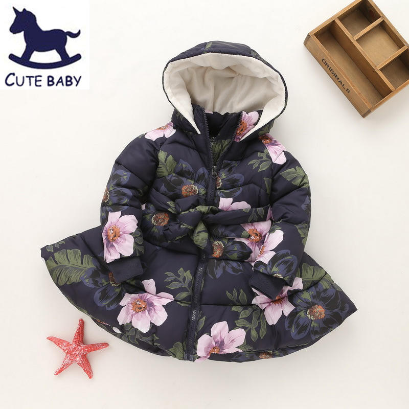 Girls winter coat Children's Parkas Winter Jackets for girls Clothing for girls jacket Clothes for baby girls kids 6-7-8-9Years