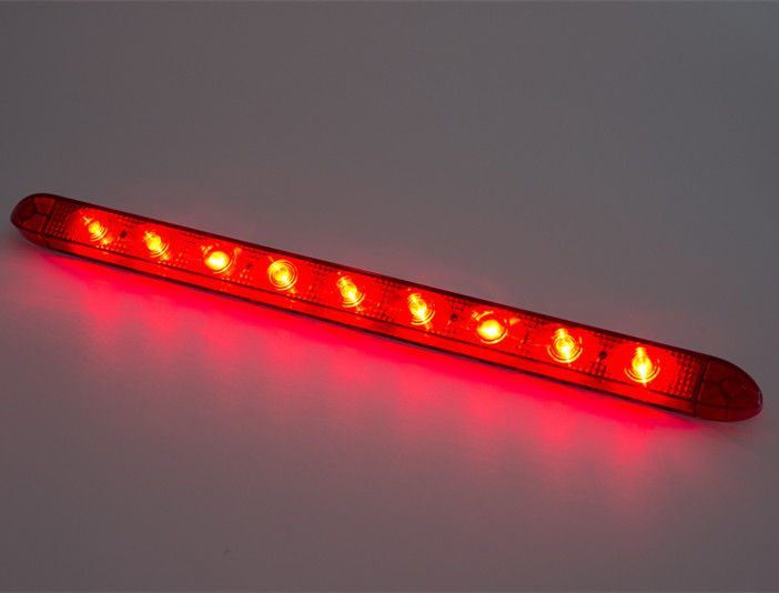 1 17 inch red 9 diodes 12v 24v led strip bar lamp truck trailer 1 17 inch red 9 diodes 12v 24v led strip bar lamp truck trailer tractor suv led lightbar light bar stop tail lights sae ece in car light assembly from aloadofball Gallery