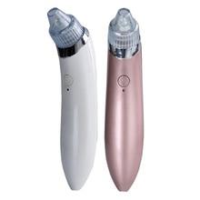 Moonbiffy Электрический Очиститель пор удаления угрей Уход за кожей устройство пор вакуумная извлечения USB Перезаряжаемые комедонов всасывания