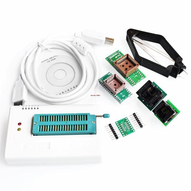 V6.0 MiniPro TL866CS Prgrammer USB Universal Programmer /Bios Programme+6 pcs Adapter