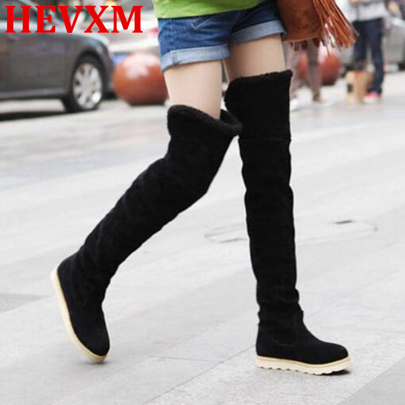 HEVXM 2016 New Winter Fashion Explosion Models Snow Boots ...
