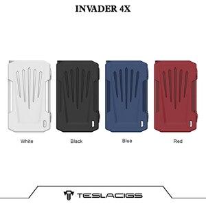 Image 5 - Originele Tesla Invader 4X Doos Mod Vape Voor Invader 4X Kit Verstelbare Voltage Elektronische Sigaret Vape Mod Vs Voopoo Slepen 2