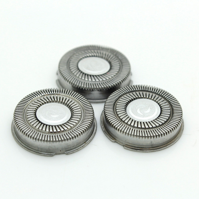 3Pcs/Pack Shaver Head Blades For Philips Norelco HQ3 HQ56 HQ55 HQ442 HQ300 HQ6 Razor Stainless Steel Blade New Fashion