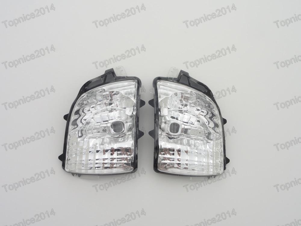 1 пара передние левое правое заднего вида боковое зеркало сигнала поворота Индикатор свет лампы Лен 31111813 31111814 для Вольво XC90 2007-
