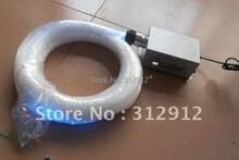 RGB 400 шт. 0.75 ММ * 5 м оптическое волокно комплект с кристально конечного прибора; бордовый двигатель: LLE-003; с дистанционным