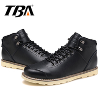 TBA Tactical Boots Men Hiking Shoes Breathable Genuine Leather Sneakers Mens Trekking Boots Top Quality Sneakers