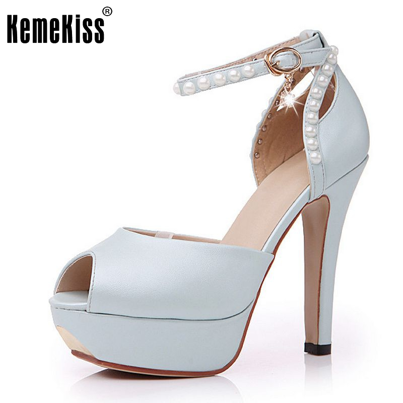 women stiletto ankle strap platform high heel sandals brand sexy fashion ladies heeled footwear heels shoes size 34-40 P17674 brand new strap high heels sandals women sandals with platform footwear woman evening shoes women sexy ladies shoes