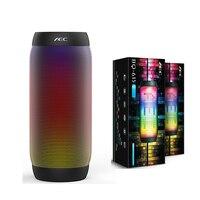 BQ 615S Speaker Portable LED Colorful Wireless Bluetooth 3 0 HIFI Stereo Bass Speaker 3 5mm