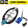 GSM Booster GSM 900 Cell Phone Signal Repeater GSM 900mhz Mobile Signal Amplifier 65dB Gain Cellular Booster Set +Yagi Antenna