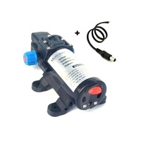 New DC 12V 80W Flow 5L/min Diaphragm Water Pump Self priming Booster Pump with Switch Garden Sprinklers Irrigation Pump