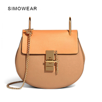 2016 Hot Sale Popular Fashion Brand Design Women Genuine Leather Cloe Bag High Quality Real Cowskin