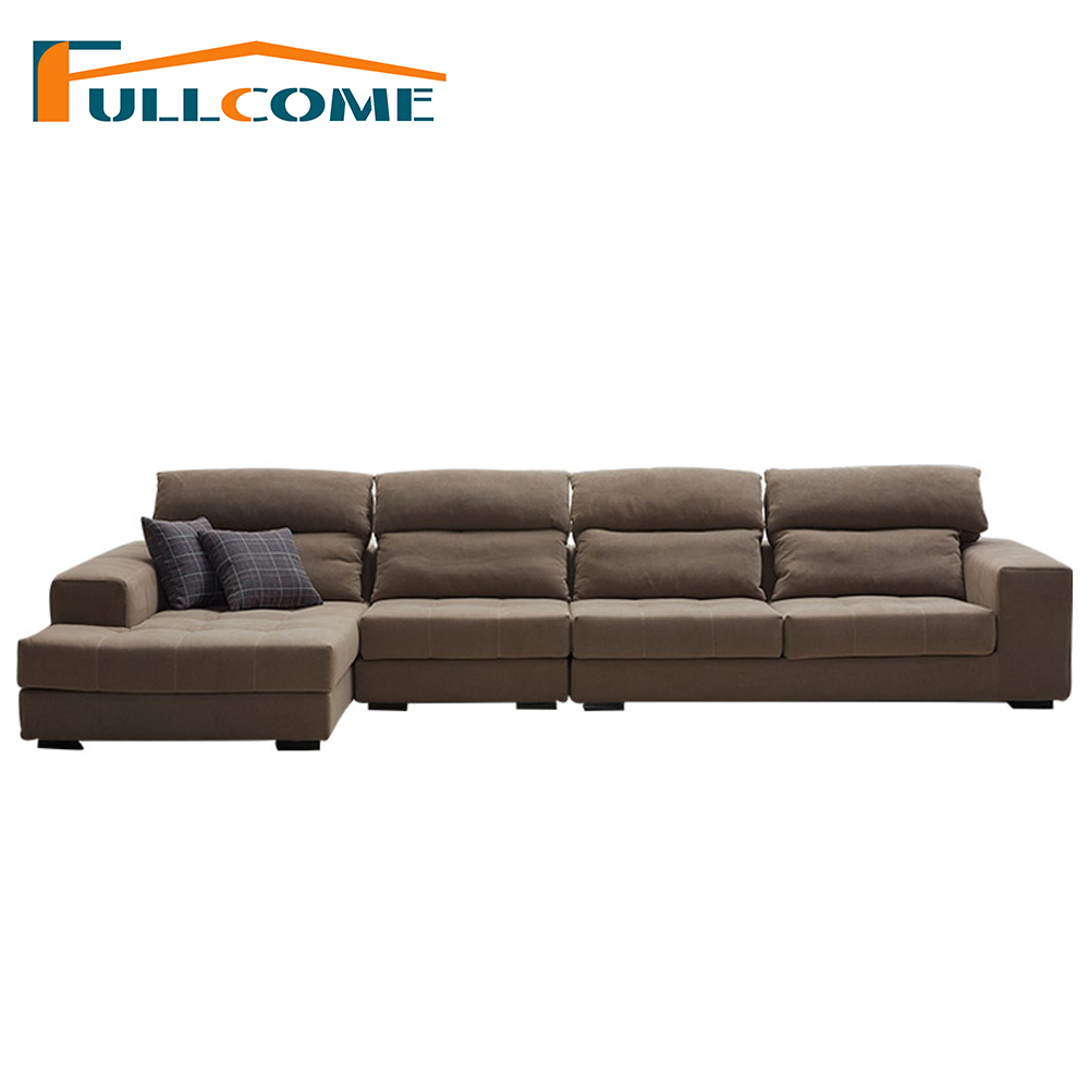 China Luxury Home Furniture Modern Fabric Scandinavian Sofa Set Living Room Furniture Chair L Shape Corner Sectional Sofas european leather sofa set living room sofa china wooden frame l shape corner sofa luxury large antique