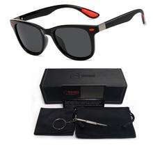 New Classic Polarized Men's Sunglasses Men Women Driving Square Frame Vintage Men Female Sun Glasses Brand Designer Male Eyewear