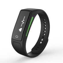 Bluetooth смарт браслет фитнес-трекер smartband v6 с монитор сердечного ритма браслет для ios huawei sony xiaomi android phone