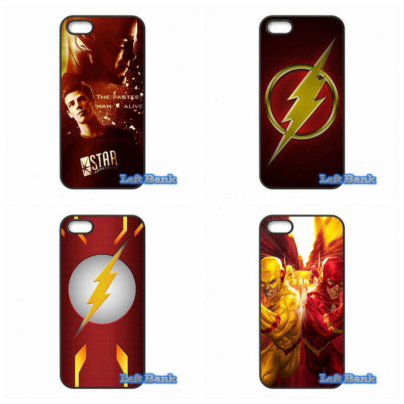The Flash movie Barry Allen Super Heroes Phone Cases Cover For Apple iPhone 4 4S 5 5S 5C SE 6 6S 7 Plus 4.7 5.5 iPod Touch 4 5 6