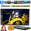NEW 7'' inch LCD Touch screen car radio mp5 player BLUETOOTH mp4 mp3 audio 1080P movie Support rear view camera 2 din car audio