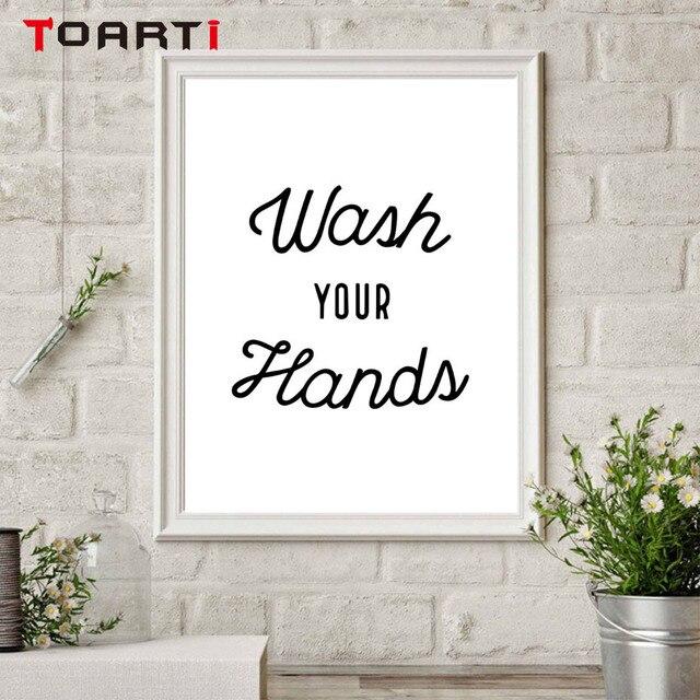 Мыть руки советы, чтобы предотвратить вирусы стены искусства холст печать забавная ванная комната художественная работа с цитатами Живопись Домашний Декор унитаз плакаты