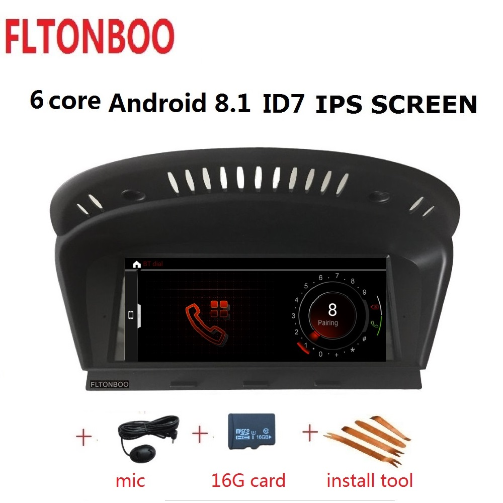ID7 Android 8.1 for bmw Series 5 E60, E61, E62, E63,E90 car gps,Wifi,canbus,steering wheel,copy map,6 core,32GB ROM,1280x480ID7 Android 8.1 for bmw Series 5 E60, E61, E62, E63,E90 car gps,Wifi,canbus,steering wheel,copy map,6 core,32GB ROM,1280x480