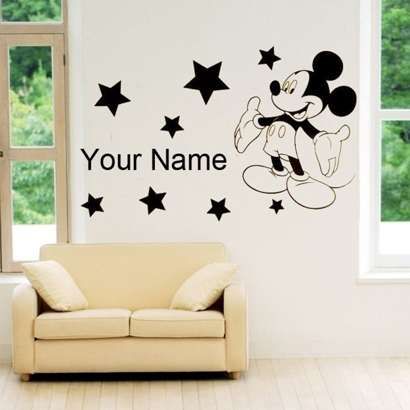 Mickey Mouse Wall Art mickey wall art promotion-shop for promotional mickey wall art on