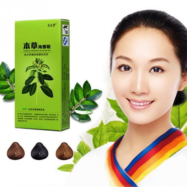 50g Tumbuhan Alami Henna Pewarna Rambut Bubuk Pewarna Sementara