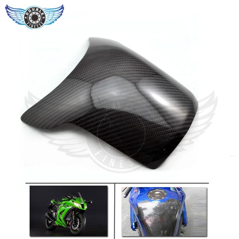 El último estilo accesorios de fibra de carbono de la motocicleta de combustible