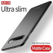 עבור Samsung S10 מקרה קשה PC Ultra Slim מט מקרי Samsung Galaxy S20 S10 S10e S9 S8 S7 S6 קצה הערה 8 9 10 בתוספת כיסוי