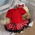 Verão de 2015 Romper Do Bebê Menina Conjunto Tutu Headband Da Criança Recém-nascidos Conjuntos Tutu Fantasia Infantil Bebe Infantil Roupas de Bebê-Roupas