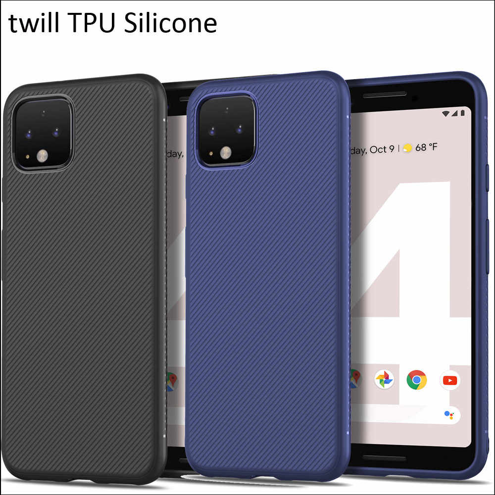 GKK twilled twill Case For Google Pixel 4 XL 3a XL Matte Frosted Soft TPU Silicone Cover