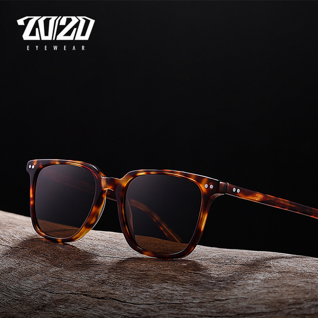 906857be339 US $14.49 43% OFF|20/20 Brand Classic Polarized Sunglasses Men Women  Acetate Unisex Sun Glasses for Man Driving Eyewear Oculos AT8037-in  Sunglasses ...